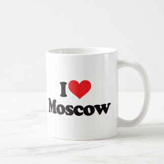 I Love Moscow Coffee Mug