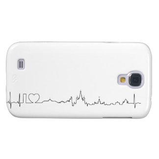 I love Moscow (ecg style) souvenir Galaxy S4 Case