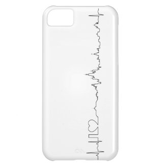 I love Moscow (ecg style) souvenir iPhone 5C Cover