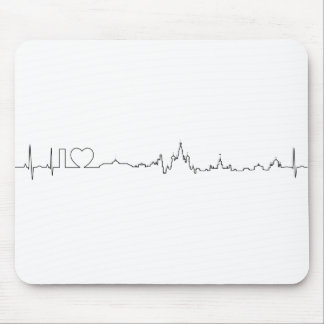 I love Moscow (ecg style) souvenir Mouse Pad