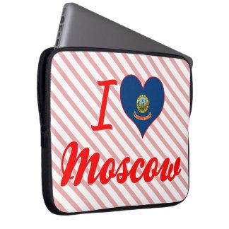 I Love Moscow, Idaho Laptop Sleeve