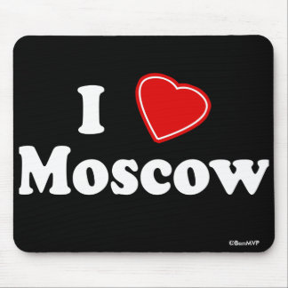 I Love Moscow Mouse Pad