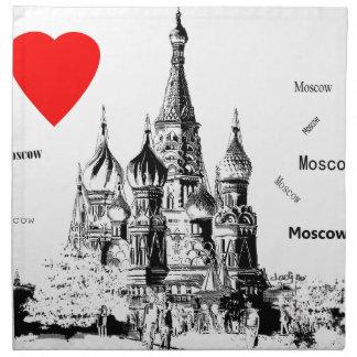 I love Moscow Napkin