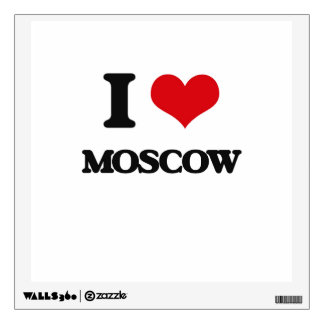 I love Moscow Wall Graphics