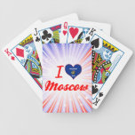 I Love Moscow, Wisconsin Poker Deck