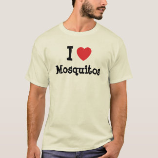 I love Mosquitos heart custom personalized T-Shirt