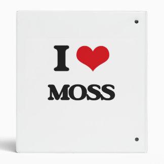 I Love Moss Binders