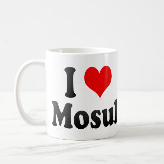 I Love Mosul Iraq Mugs