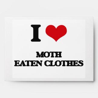 I Love Moth Eaten Clothes Envelope