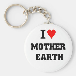 I love mother earth key chains
