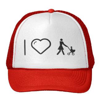 I Love Motherly Loves Trucker Hat