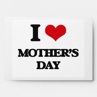 I Love Mother'S Day Envelope