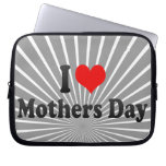 I love Mothers Day Laptop Sleeves