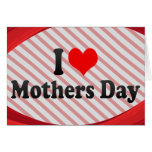I love Mothers Day Stationery Note Card