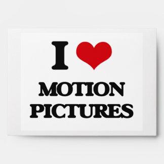I Love Motion Pictures Envelope
