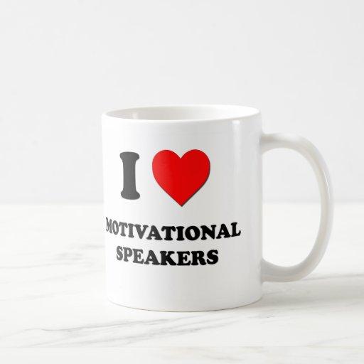 I Love Motivational Speakers Classic White Coffee Mug