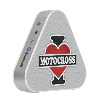 I Love Motocross Bluetooth Speaker