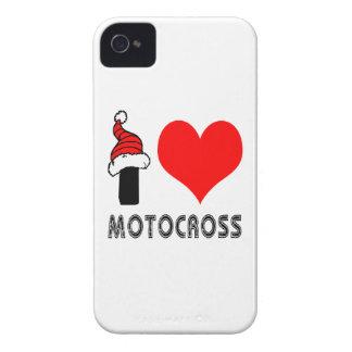 I Love Motocross Design iPhone 4 Case-Mate Cases