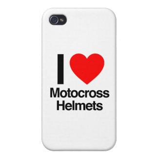 i love motocross helmets case for iPhone 4