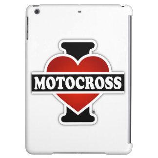 I Love Motocross iPad Air Cases