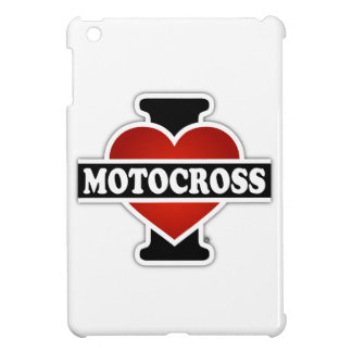 I Love Motocross iPad Mini Case
