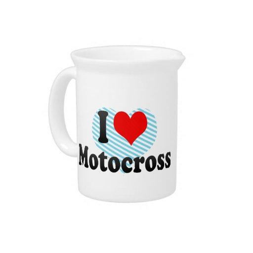 I love Motocross Pitcher