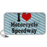 I love Motorcycle Speedway iPod Speaker
