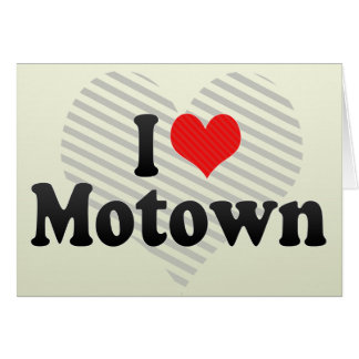 I Love Motown Cards