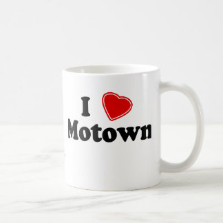 I Love Motown Coffee Mug