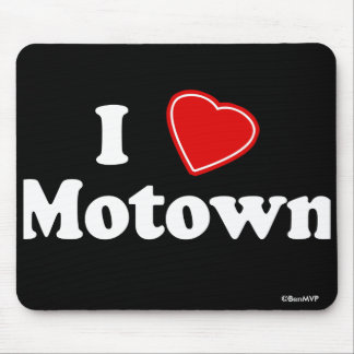I Love Motown Mouse Pad