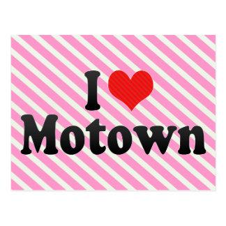 I Love Motown Post Card