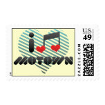 I Love Motown Stamps