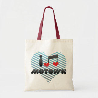 I Love Motown Tote Bag