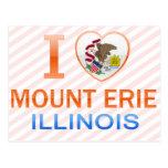 I Love Mount Erie, IL Postcards