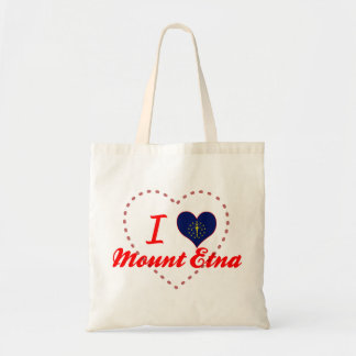 I Love Mount Etna, Indiana Canvas Bag