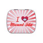 I Love Mount Ida, Arkansas Jelly Belly Candy Tin