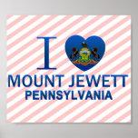I Love Mount Jewett, PA Print