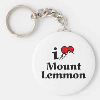 I love Mount Lemmom Keychain