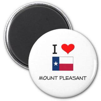 I Love Mount Pleasant Texas Refrigerator Magnets