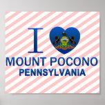 I Love Mount Pocono, PA Poster