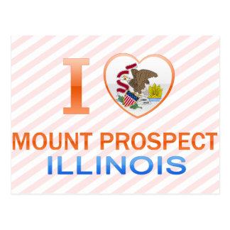 I Love Mount Prospect, IL Postcard