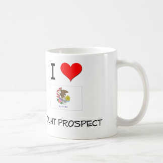 I Love MOUNT PROSPECT Illinois Coffee Mugs