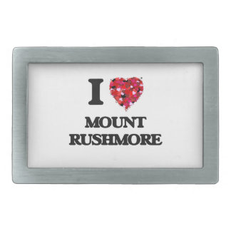 I love Mount Rushmore Belt Buckles