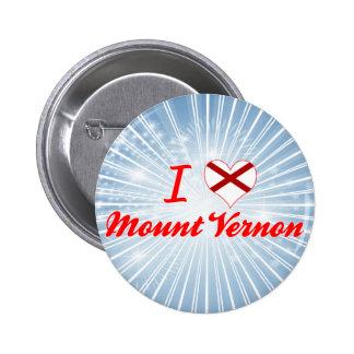 I Love Mount Vernon, Alabama Button