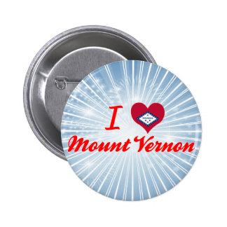 I Love Mount Vernon, Arkansas Pin