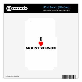 I love Mount Vernon iPod Touch 4G Skins