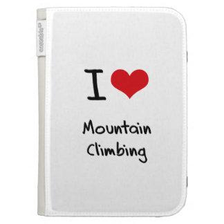 I love Mountain Climbing Kindle Folio Cases