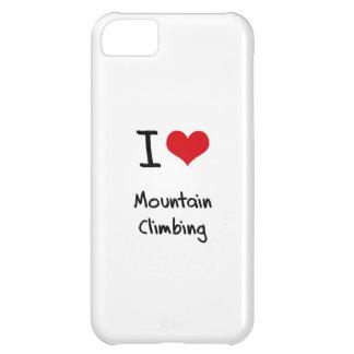 I love Mountain Climbing iPhone 5C Cases