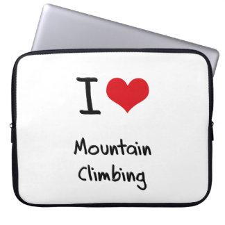 I love Mountain Climbing Laptop Sleeve