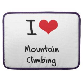 I love Mountain Climbing Sleeve For MacBooks